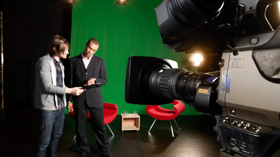 Tv video field production image