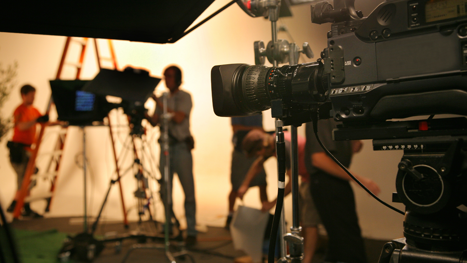 Tv video studio image
